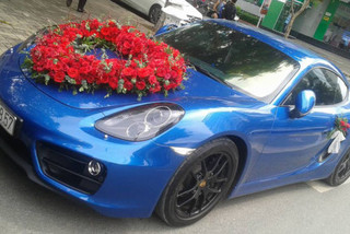 Dàn siêu xe và xe thể thao tiền tỷ rước dâu tại Sài thành