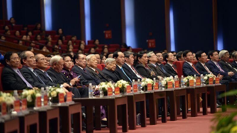 Lãnh đạo và các nguyên lãnh đạo Đảng, Nhà nước dự lễ kỷ niệm