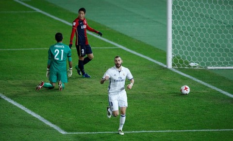 Benzema goal 9
