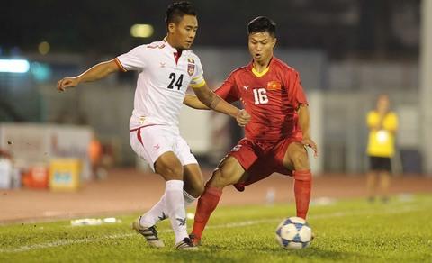 Video bàn thắng U21 Việt Nam 1-1 U21 Myanmar