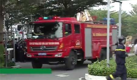 Cận cảnh xe thang chữa cháy 38 tỷ đồng hiện đại nhất Việt Nam