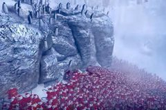 Video gây sốc về đại chiến giữa 4.000 ông già Noel và 11.000 chim cánh cụt