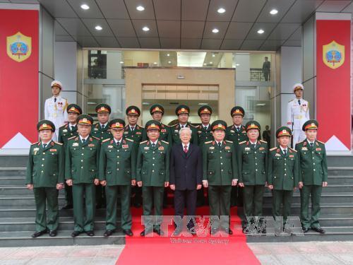 Tình báo Quốc phòng tuyệt đối trung thành với Đảng, Quân đội