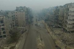 Sự tàn phá đớn đau ở 'vùng đất chết' Syria