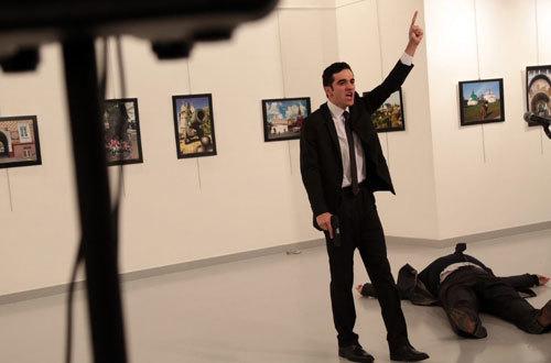 Đại sứ Nga ở Thổ Nhĩ Kỳ bị ám sát