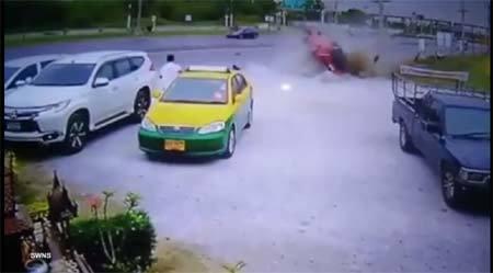 Người đàn ông thoát chết hi hữu sau tai nạn kinh hoàng