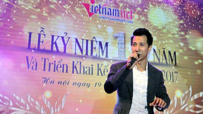 TBT VietNamNet song ca cùng Tùng Dương, Lê Anh Dũng