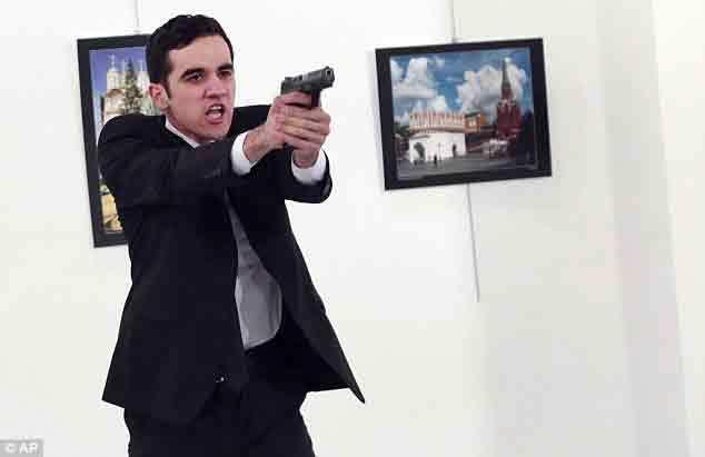 đại sứ Nga, tay súng, ám sát, khủng bố