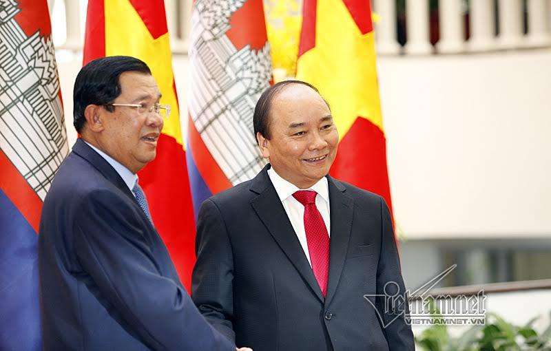 Campuchia, Thủ tướng Campuchia, Thủ tướng Hun Sen, Hun Sen, Thủ tướng Nguyễn Xuân Phúc, Nguyễn Xuân Phúc