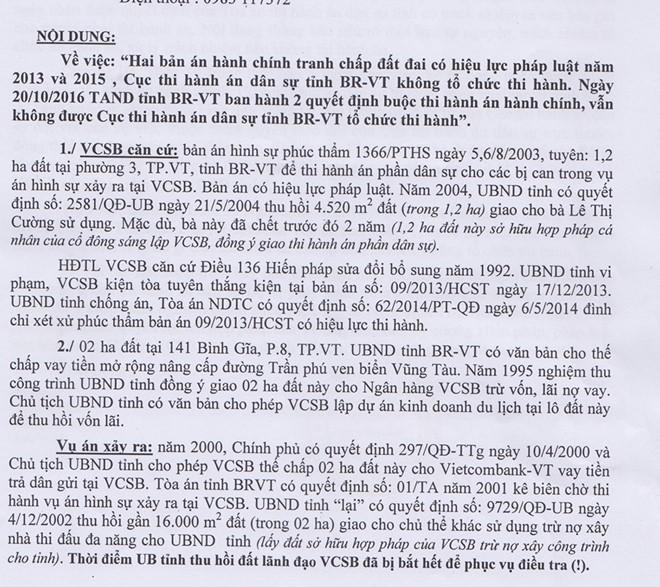 Đại gia Lê Ân thắng kiện UBND tỉnh, đại gia Lê Ân, khóc ròng vì thắng kiện, lão đại gia, đại gia Vũng Tàu, không thi hành án, triệu tập chủ tịch tỉnh, kiện cáo