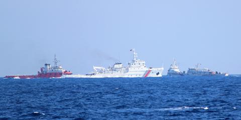 Quân bài chốt trong 'ván poker' trên Biển Đông