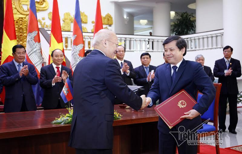 VN-Campuchia không để thế lực nào dùng lãnh thổ gây chia rẽ