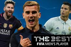 FIFA phủ nhận Ronaldo giành giải Cầu thủ xuất sắc nhất năm