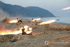 Kim Jong Un huấn luyện chiến đấu giữa đêm