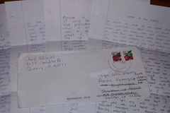 Nổi da gà lá thư của chàng trai mất từ 14 năm trước