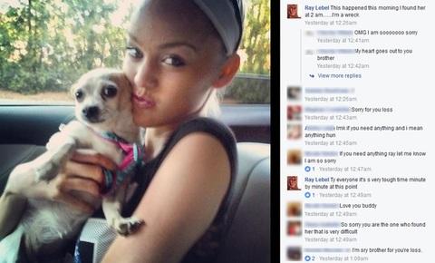 Cựu thí sinh America's Next Top Model tự tử tại nhà riêng