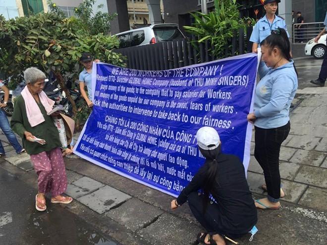 Công ty chồng Thu Minh lại tiếp tục bị đòi nợ