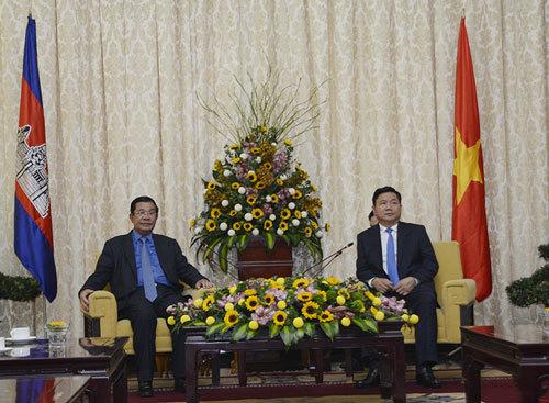 Thủ tướng Campuchia Hun Sen thăm TP.HCM