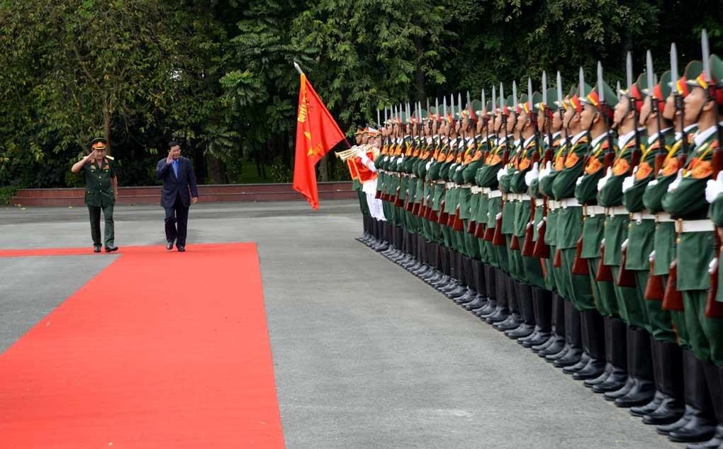 Thủ tướng Campuchia Hun Sen gặp cựu binh quân tình nguyện VN