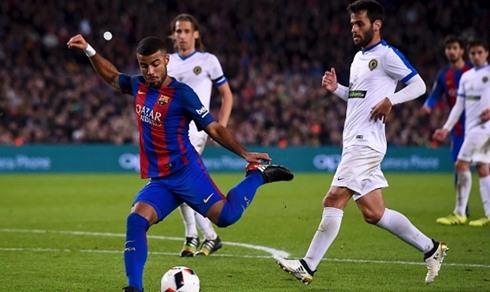 Chấp MSN, Barca vẫn thắng 7-0 ở Cúp nhà Vua