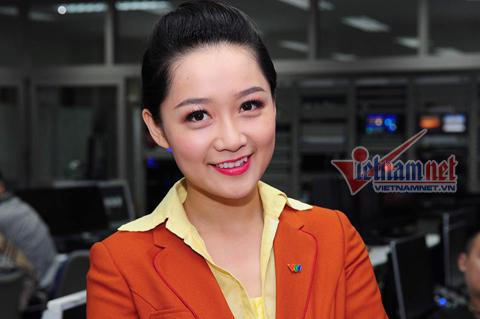 Hình ảnh không được lên sóng của BTV trẻ nhất Thời sự VTV