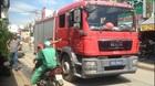 Xe cứu hỏa va chạm xe máy, một người chết ở Sài Gòn