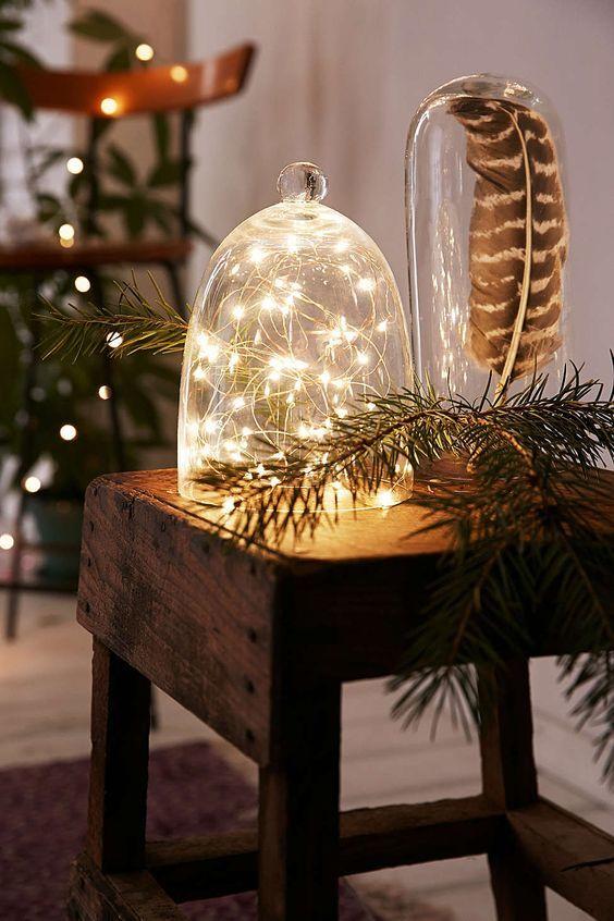 20161222151624 trang tri nha 14 Mách bạn cách trang trí nhà với đèn dây cho Giáng sinh thêm ấm áp