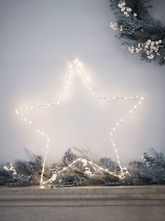 20161222152146 trang tri nha 23 Mách bạn cách trang trí nhà với đèn dây cho Giáng sinh thêm ấm áp