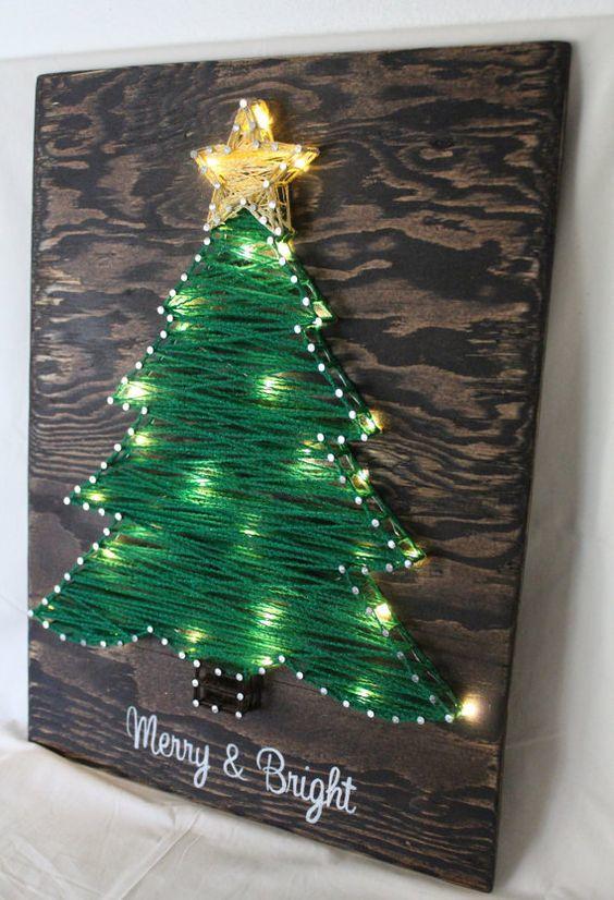 20161222152146 trang tri nha 28 Mách bạn cách trang trí nhà với đèn dây cho Giáng sinh thêm ấm áp