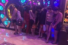 7 nữ, 11 nam 'phê' ma tuý ở quán karaoke 4h sáng