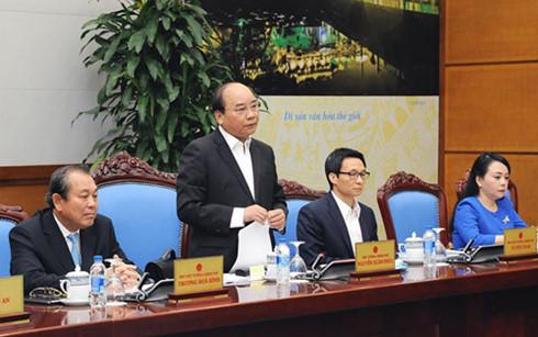 Nguyễn Xuân Phúc, Thủ tướng Nguyễn Xuân Phúc