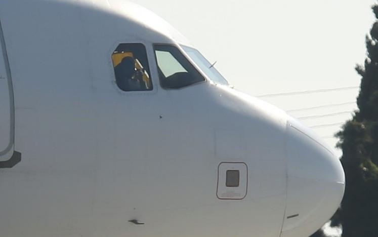 Hình ảnh đầu tiên về vụ máy bay bị không tặc