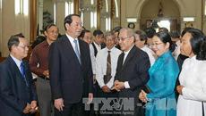 Lãnh đạo Đảng, Nhà nước chúc mừng đồng bào Công giáo