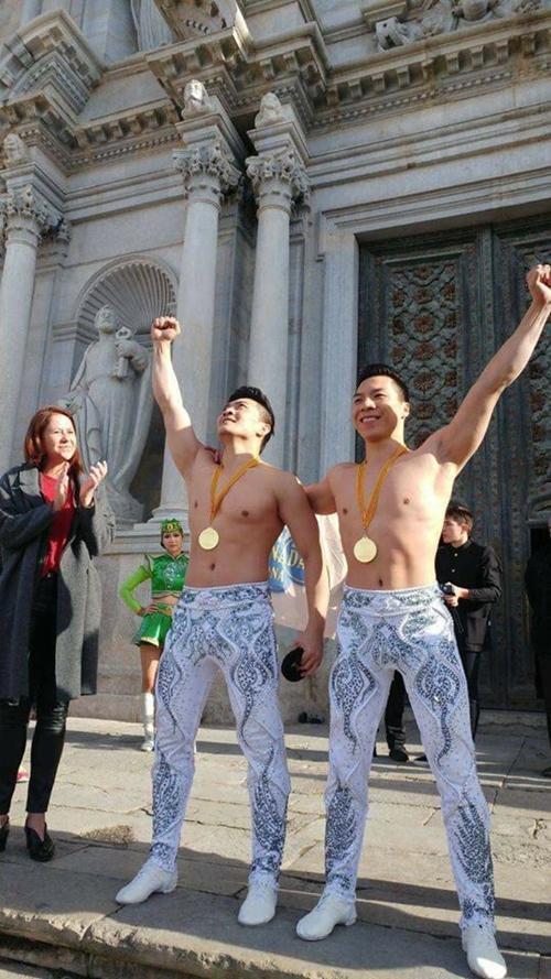 Quốc Cơ, Quốc Nghiệp, xiếc Việt Nam, Kỷ lục Guinness thế giới