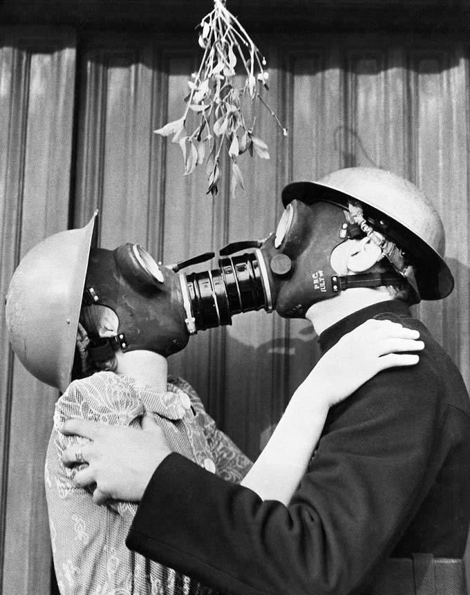 15 hình ảnh độc đáo về lễ Giáng sinh trong quá khứ