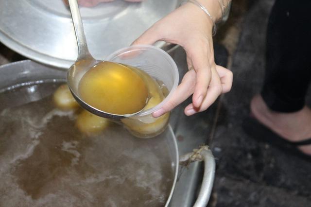 Bánh trôi tàu - món ăn không thể khước từ của mùa đông Hà Nội