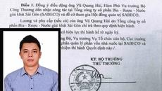 Ông Vũ Quang Hải, con trai ông Vũ Huy Hoàng rút khỏi HĐQT Sabeco