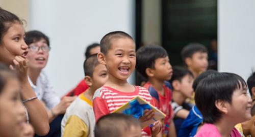 Ứng dụng kết nối nhà hảo tâm và trẻ em nghèo