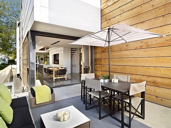 Nhà phố 2 tầng 40m2 đẹp ấn tượng nhờ mang ánh sáng tự nhiên vào nhà