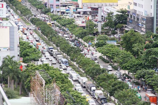 TPHCM, Tân Sơn Nhất, Trường Sơn, kẹt xe, giao thông ùn tắc, chuyên gia giao thông