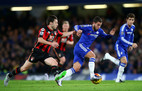 Chelsea 0-0 Bournemouth (hiệp 1)