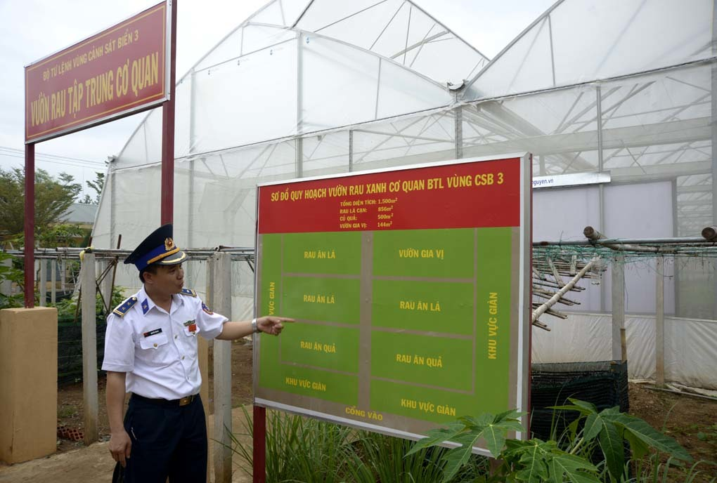Cảnh sát biển, Vùng Cảnh sát biển 3, rau sạch