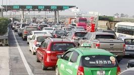 Trạm thu phí tắc đường 150 lượt dừng hoạt động