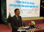 Bắn pháo hoa kỷ niệm 20 năm tái lập tỉnh Quảng Nam