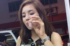 HH Kỳ Duyên từ chối bình luận về ảnh hút thuốc nơi công cộng