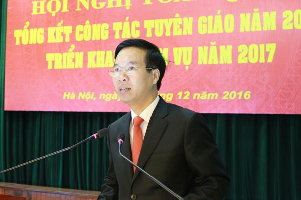 Ông Võ Văn Thưởng: Tỉnh táo ứng xử với thông tin trên mạng