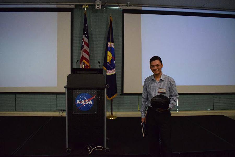 3 tháng thực tập quý giá của nam sinh ở NASA