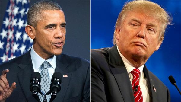 Trump – Obama đấu nhau chuyện thắng cử tổng thống
