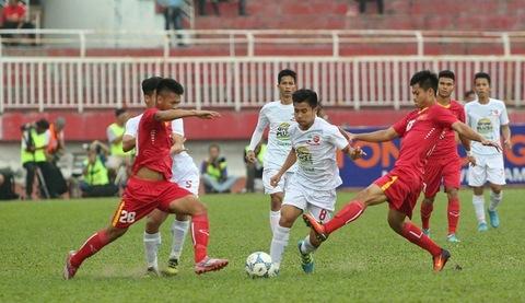 U21 HAGL 0-0 U21 Việt Nam phút 27