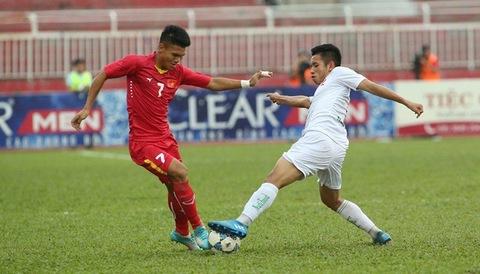 U21 HAGL 0-0 U21 Việt Nam phút 14